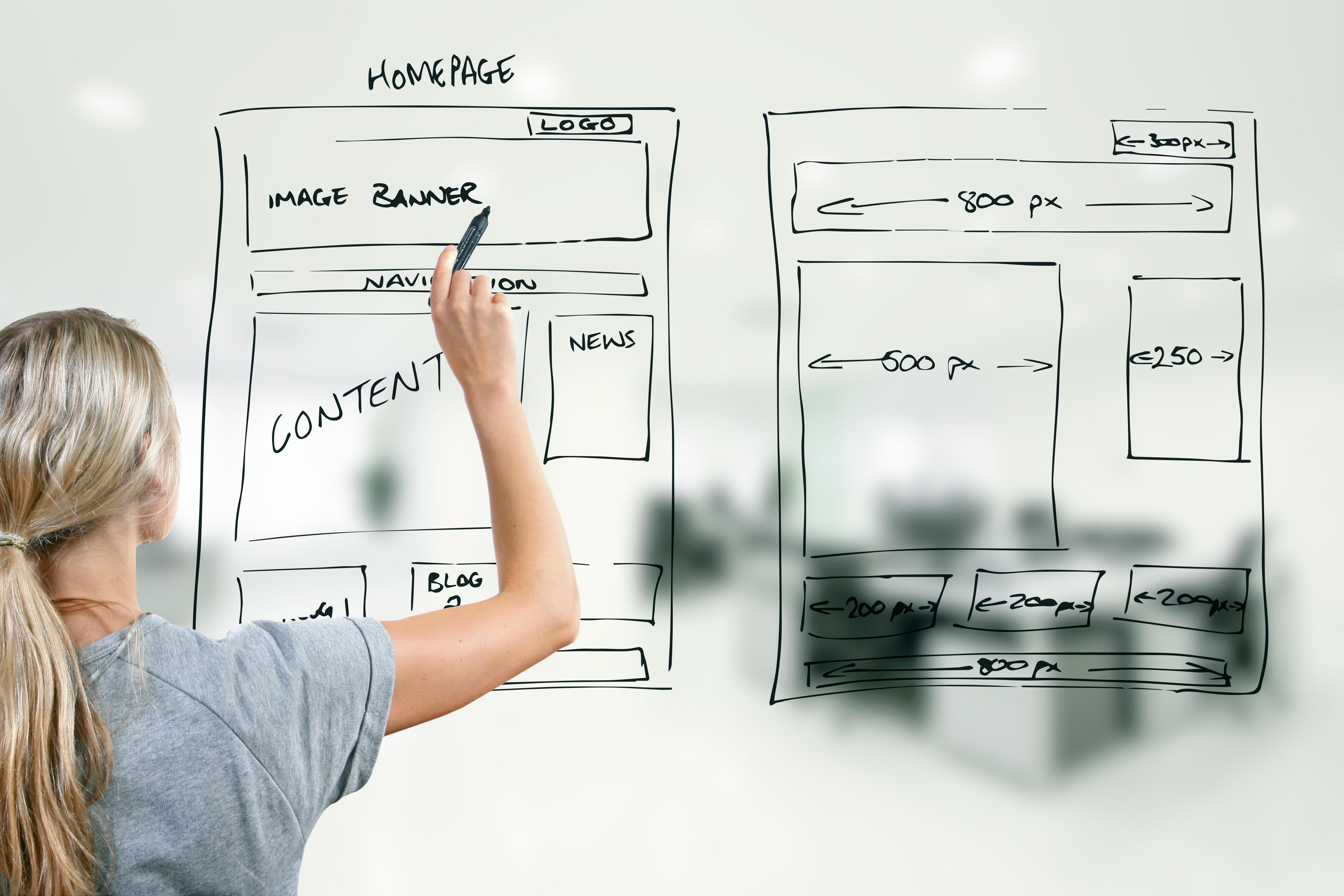 ホームページのデザインに必須な5つのコツ