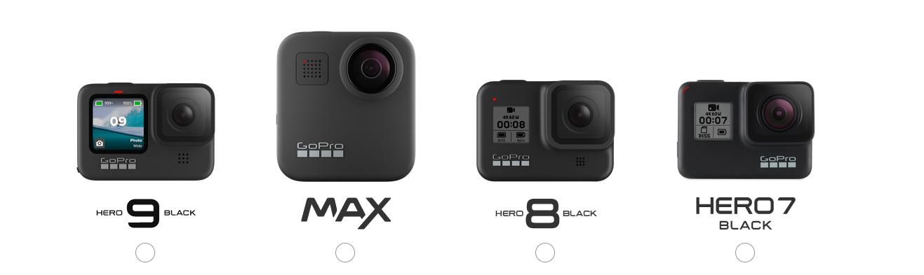 GoProのラインナップと特徴